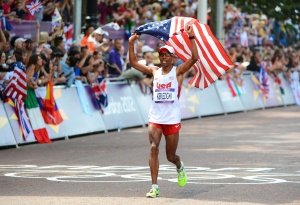 Olympics: Track and Field-Men's Marathon