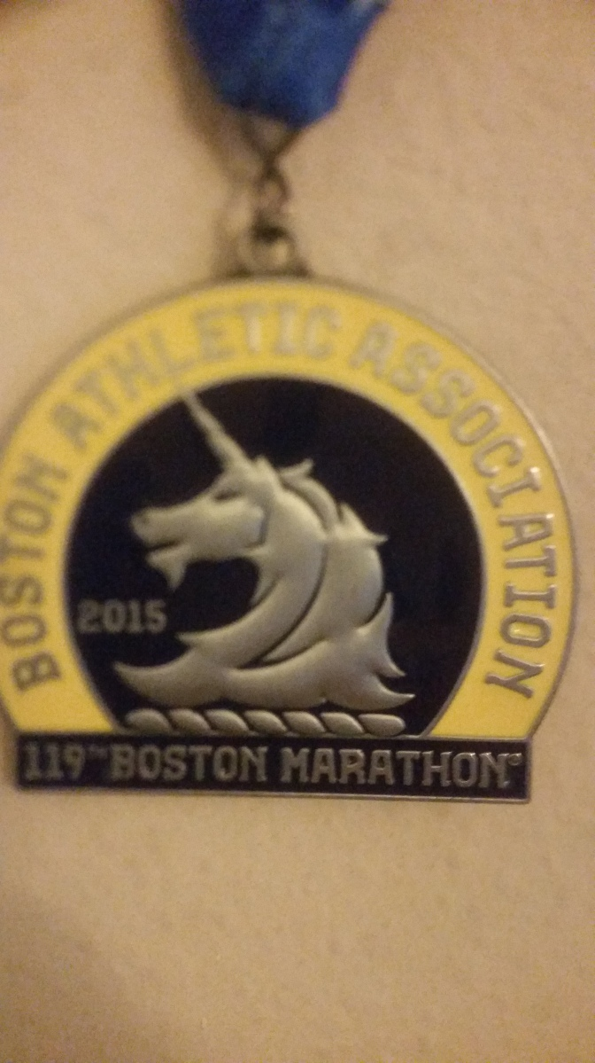 Boston Marathon Recap